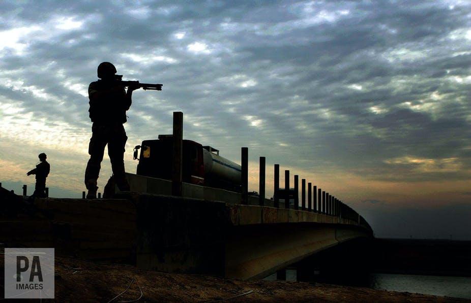Hukum HAM Bukan Ancaman Bagi Angkatan Bersenjata Inggris