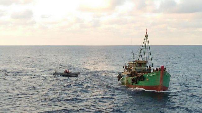 Hukum Laut Internasional Tentang Membalikkan Kapal Migran